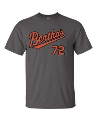 limited edition bertha's 72 t-shirt