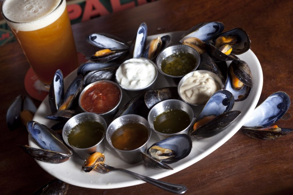 berthas world famous mussels