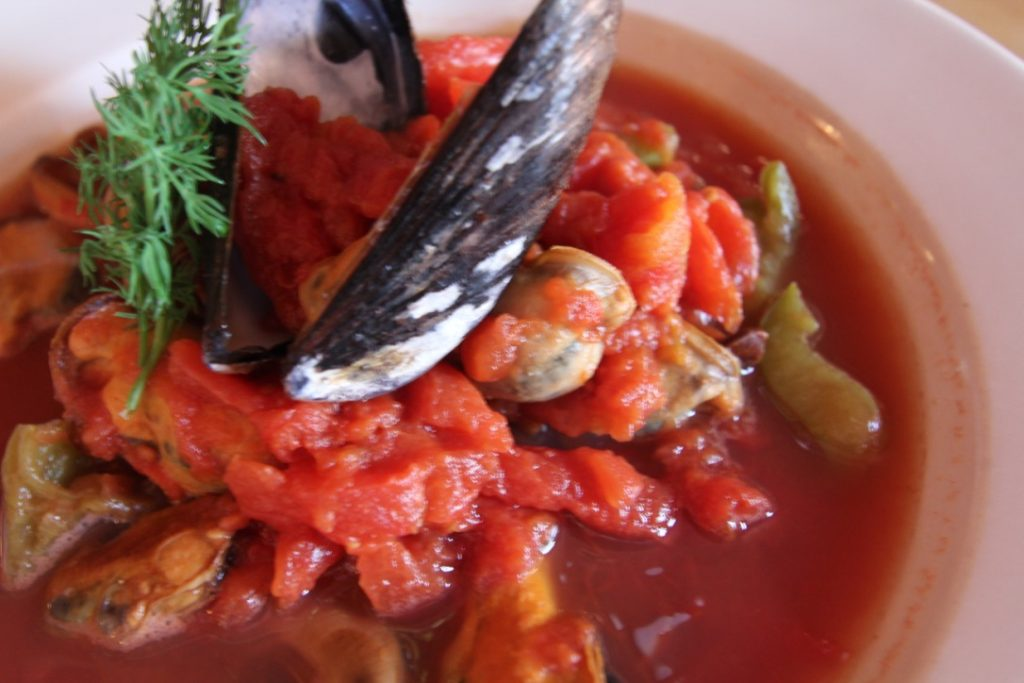 Laura's Famous Mussel Soup - Eat Bertha's Mussels