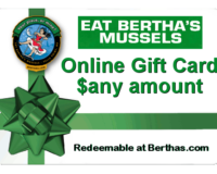 Bertha's Online Gift Card - redeemable @Berthas.com